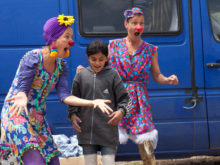 Clowns Without Borders Project in Greece - 2016