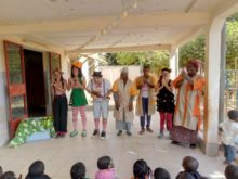 Clowns Without Borders Project in Burkina Faso -