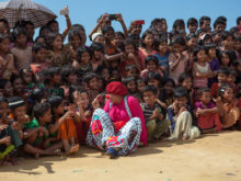 Clowns Without Borders Project in Bangladesh - 2018