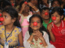 Clowns Without Borders Project in India - 2017