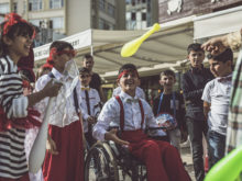 Clowns Without Borders Project in Turkey -