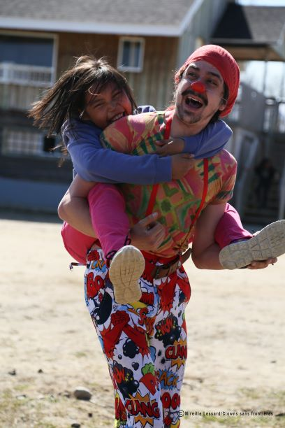 Clowns Without Borders - Project photo by © Mireille Lessard