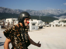 Clowns Without Borders Project in Croatia -