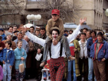 Clowns Without Borders Project in Bosnia - 1996