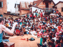 Clowns Without Borders Project in Madagascar - 2001