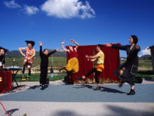 Clowns Without Borders Project in Bosnia - 2002