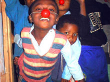 Clowns Without Borders Project in Madagascar - 2003