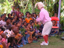 Clowns Without Borders Project in Bangladesh - 2005