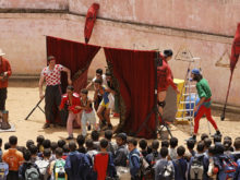 Clowns Without Borders Project in Morocco - 2006