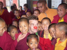 Clowns Without Borders Project in Nepal -
