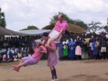 Clowns Without Borders Project in Uganda -