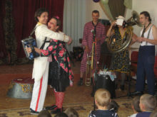 Clowns Without Borders Project in Moldova - 2009