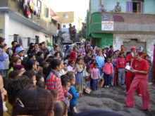Clowns Without Borders Project in Egypt -