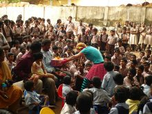 Clowns Without Borders Project in India - 2010