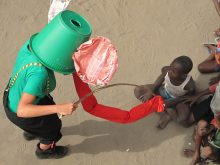 Clowns Without Borders Project in Democratic Republic of the Congo - 2010