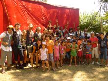 Clowns Without Borders Project in Uruguay - 2010