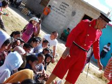Clowns Without Borders Project in Israel - 2011