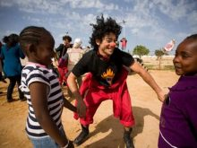 Clowns Without Borders Project in Tunisia - 2012