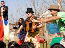 Clowns Without Borders Project in Kosovo - 2012