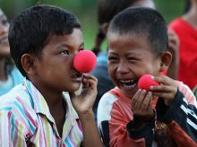Clowns Without Borders Project in Indonesia - 2012