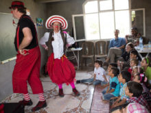 Clowns Without Borders Project in Syria - 2013