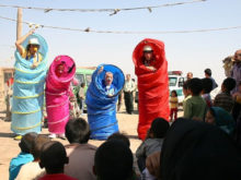 Clowns Without Borders Project in Iran - 2013