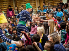 Clowns Without Borders Project in Sweden - 2013