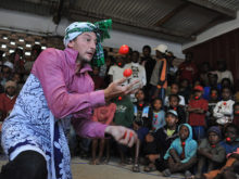 Clowns Without Borders Project in Madagascar - 2013