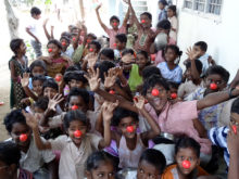 Clowns Without Borders Project in India - 2013