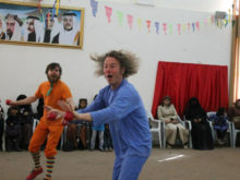 Clowns Without Borders Project in Jordan -