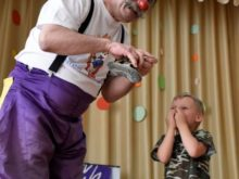 Clowns Without Borders Project in Ukraine - 2018