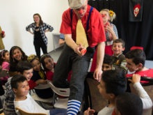 Clowns Without Borders Project in Germany - 2016