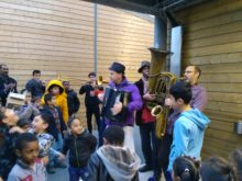 Clowns Without Borders Project in France -