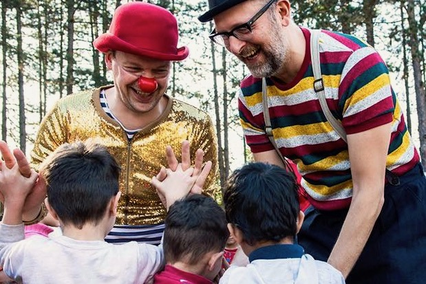 Clowns Without Borders - Project photo by © Sarah Hickson
