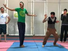 Clowns Without Borders Project in Jordan - 2018