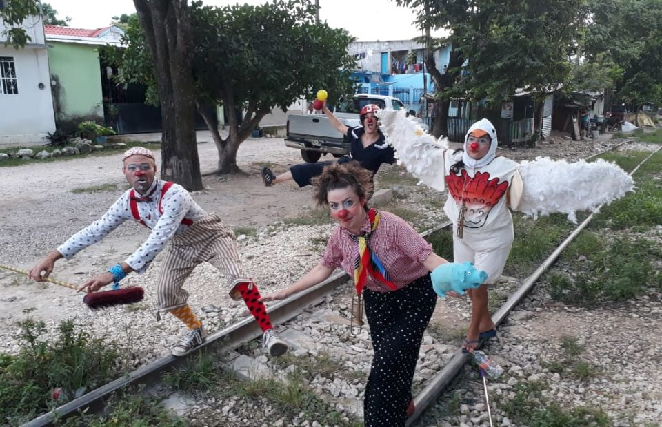 Clowns Without Borders - Project photo by © PSF Brazil