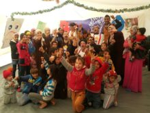 Clowns Without Borders Project in Jordan - 2017