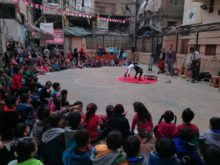 Clowns Without Borders Project in Lebanon -
