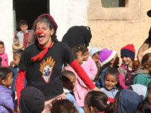 Clowns Without Borders Project in Chad -