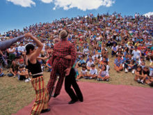 Clowns Without Borders Project in Costa Rica - 1996