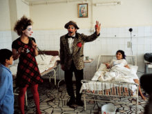 Clowns Without Borders Project in Romania - 1997