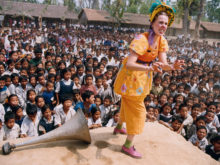 Clowns Without Borders Project in Nepal - 2001