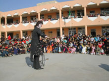 Clowns Without Borders Project in Algeria -