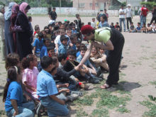 Clowns Without Borders Project in Israel -