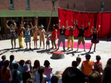 Clowns Without Borders Project in Uruguay -