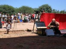 Clowns Without Borders Project in Morocco -