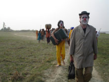 Clowns Without Borders Project in Bangladesh - 2006