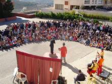 Clowns Without Borders Project in Gaza Strip -