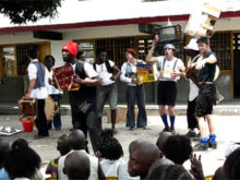 Clowns Without Borders Project in Democratic Republic of the Congo - 2007