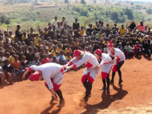 Clowns Without Borders Project in Swaziland - 2007